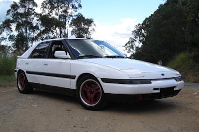 Mazda Astina Modifikasi