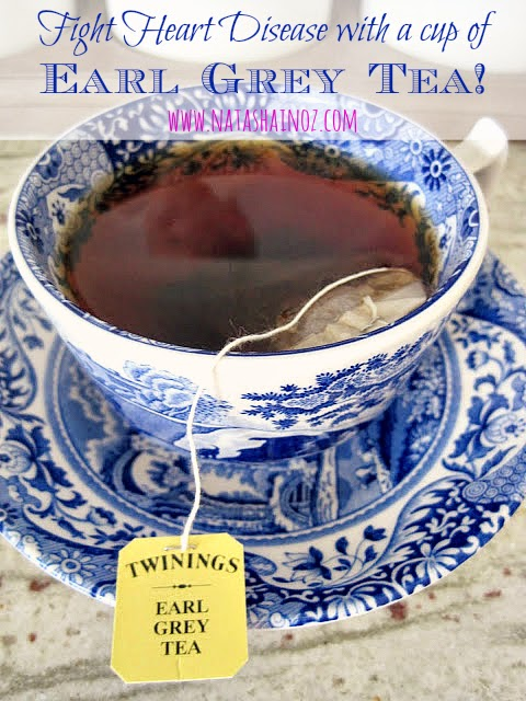 Earl Grey Tea could lower cholesterol levels and reduce the chance of heart disease. Natasha in Oz