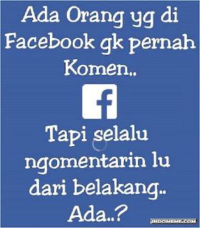 kata kata lucu buat komen di facebook
