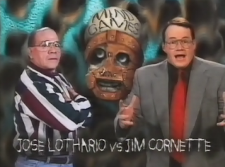 WWF / WWE IN YOUR HOUSE 10: Mind Games - Jose Lothario faced Jim Cornette