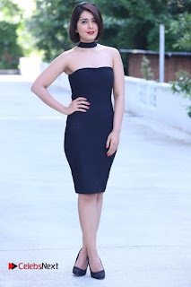 Actress Raashi Khanna Latest Pictures in Black Short Dress  0013