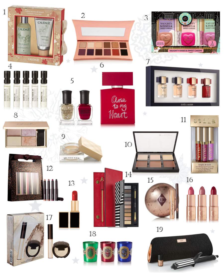 Beauty Gift Guide - 2016