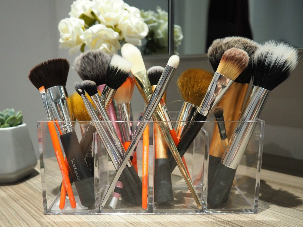 Makeup Brush Acrylic Organiser