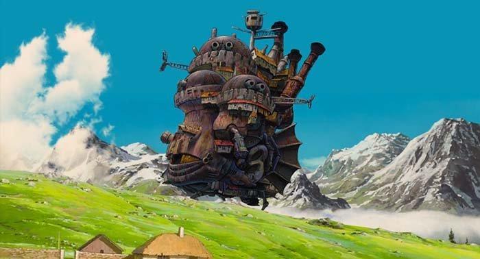 Sakuranime, Howl no Ugoku Shiro ( Howl's Moving Castle )