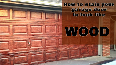 http://fixlovely.blogspot.ca/2013/10/staining-garage-door.html