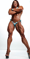 Female bodybuilders, Female Bigger Leg Muscles