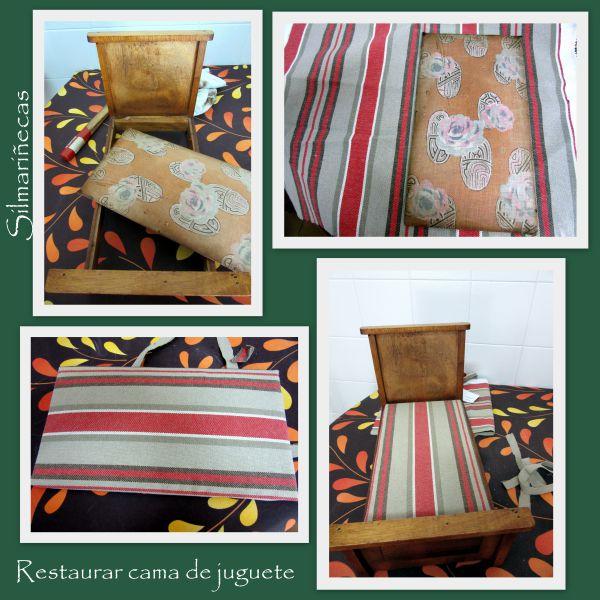 restauración cama juguete de feria desembalaje bilbao