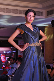 South Indian Celebrities Pos at Love For Handloom Collection Fashion Show  0062.jpg