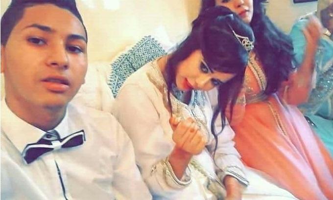 3580c66f3 بالفيديو : صور زواج أصغر كوبل مغربي تشعل فيسبوك...شوفو آش جاب ليها ...