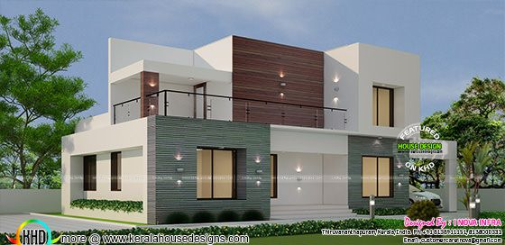 3 bedroom attached contemporary home