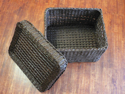 Короб для хранения из бумажных трубочек. Блог Наташи Воробей.