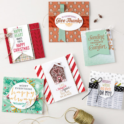 Stampin' Up! Suite Season -- 25% Off in November 2016