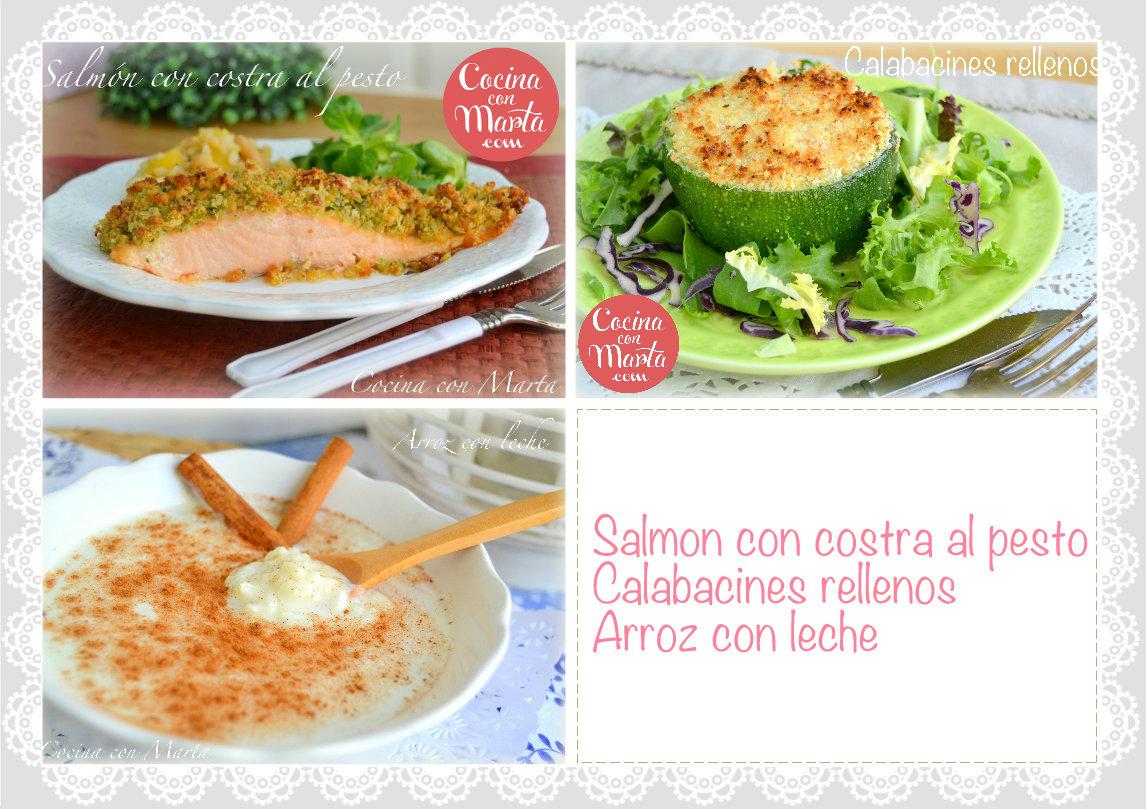 Cocina con Marta Recetas fciles rpidas y caseras Men del da