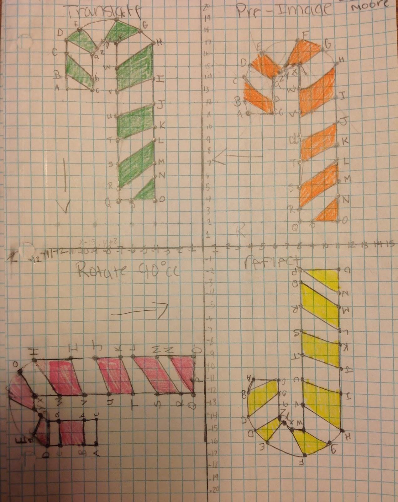 algebra 2 transformations worksheet