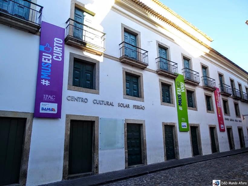 O que fazer no Pelourinho, Salvador (Bahia) - Centro Cultural Solar Ferrão