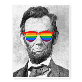 Abraham lincoln and gay