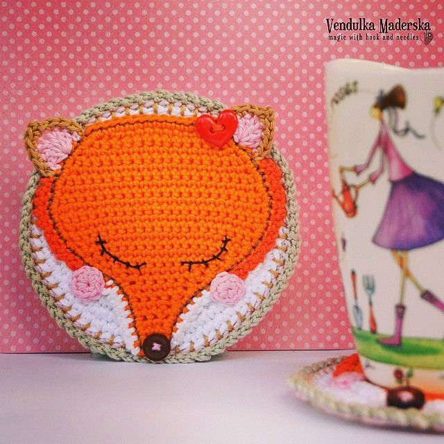 crochet fox pattern by VendulkaM