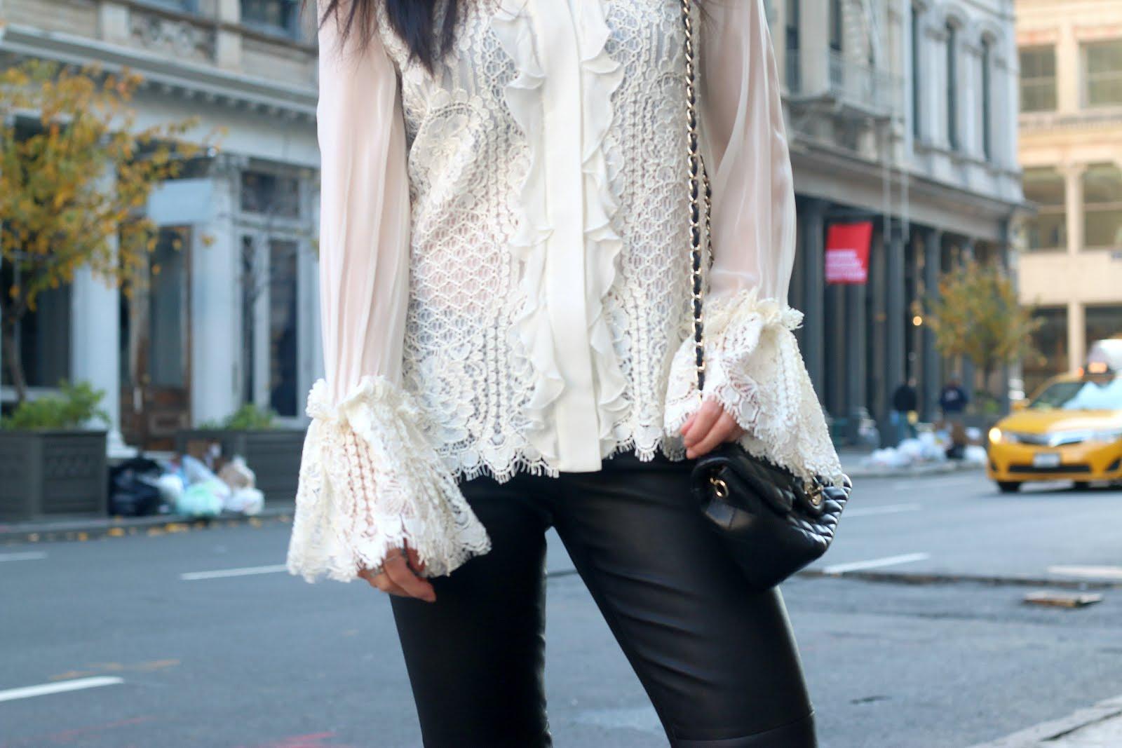 Alexis Aminila lace blouse
