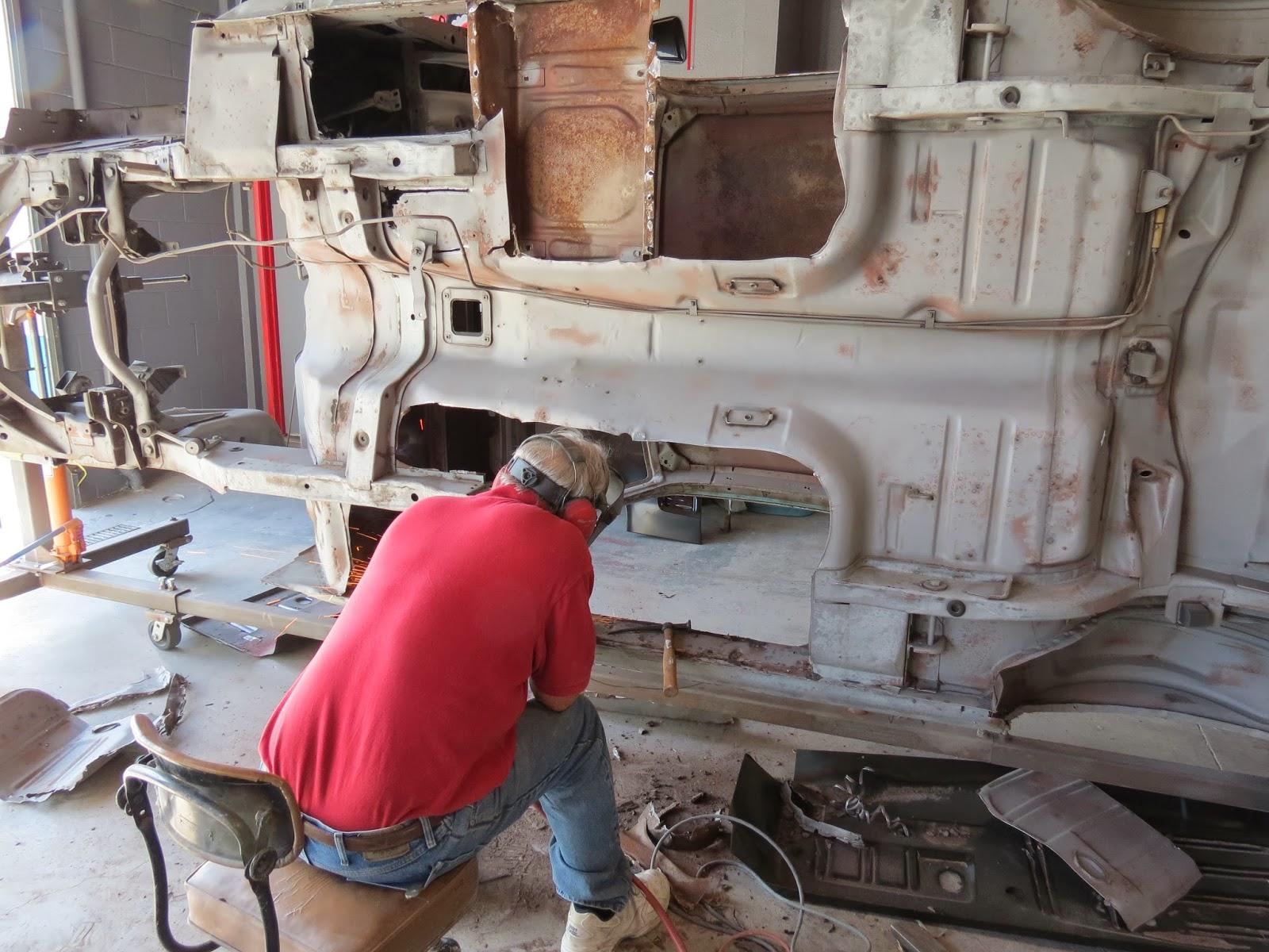 67 mustang restoration part 2
