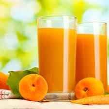 كوكتيل الخوخ مع البرتقال  Peach cocktail with oranges