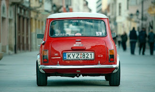 BMC Mini Cooper Classic Car Rear