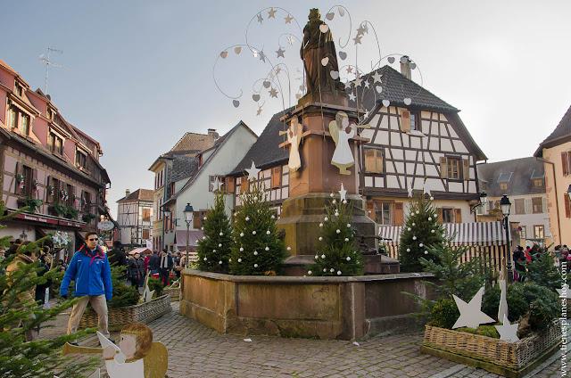 Ribeauville Navidad Alsacia