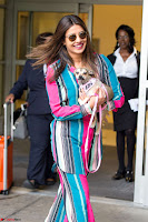 Priyanka Chopra in Colorful Jumpsuit arriving at JFK Airport New York 18 June 2017 ~  Exclusive 017.jpg