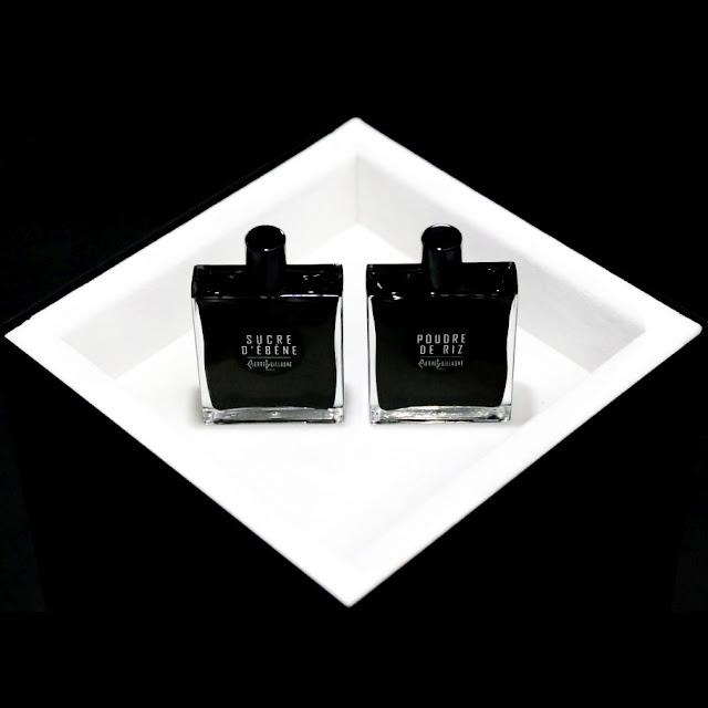 Huitieme Art Parfums: Sucre d'Ebene i Poudre de Riz