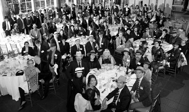 Vintage headwear association dinner
