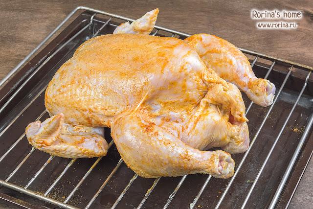 Какие специи использовать для цыпленка?