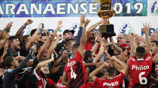 Trofeus Do Futebol Campeonato Paranaense