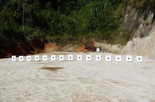 Sede do Clube do Tiro oferece estande com 15 pontos de tiro