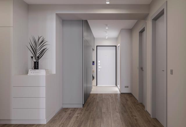 minimalis interior apartemen yang luas, minimalis interior, desain minimalis apartemen