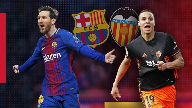 مشاهدة مباراة برشلونة وفالنسيا بث مباشر اليوم 7-10-2018 الدوري الأسباني