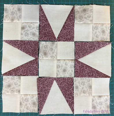 Part 4 - En Provence, Bonnie Hunter Mystery Quilt 2016