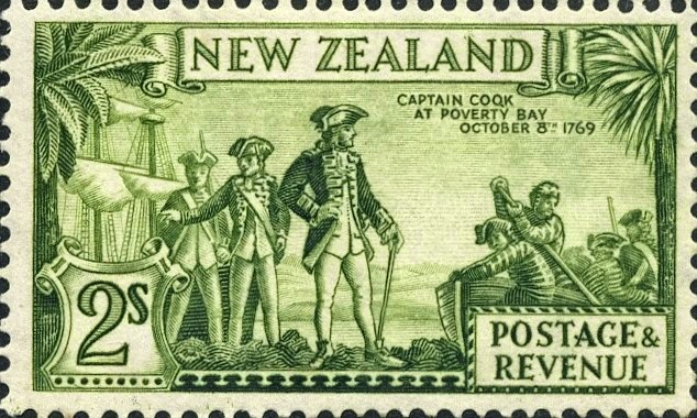 Virtual New Zealand Stamps 1935 Pictorials