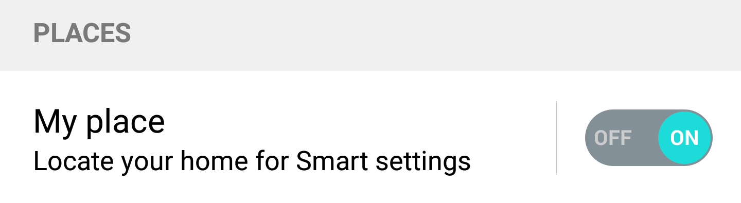 Fixed: My Place grayed out in LG smart settings   ValueStuffz