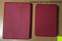 Vergleich mit Adhipa: Yogablock »Damodar« - flach- erhältlich in den Trendfarben: Erdbraun Moosgrün Bordeaux Currygelb Lila - der ideale Yogaklotz aus gehärteten Schaumstoff (Hartschaum)- REACH geprüft (keine Schadstoffe) der Yoga Brick ist ein praktisches Hilfsmittel (Yogazubehör) für eine Vielzahl an Yogaübungen / Asanas : Gesamtgewicht liegt bei ca.180g (schön leicht) / Größe 28cm x 20cm x 5cm