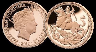 London Mint Office 2017 Sovereign
