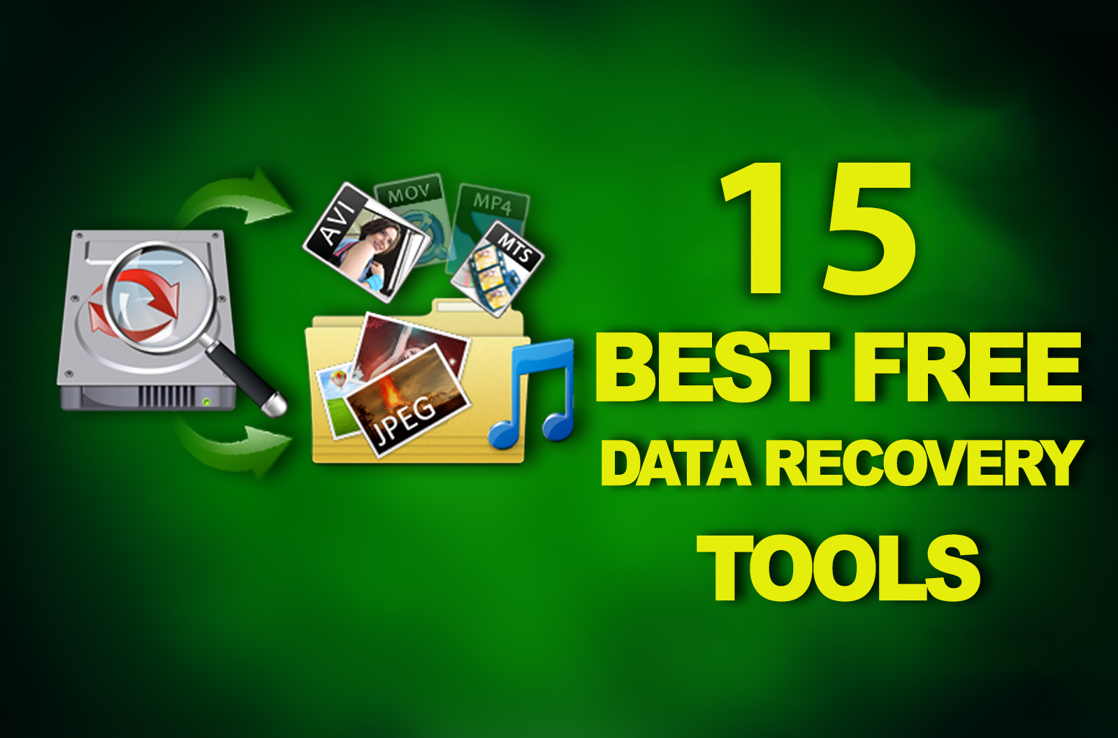 15 Best Free Data Recovery Software (Windows Computer)