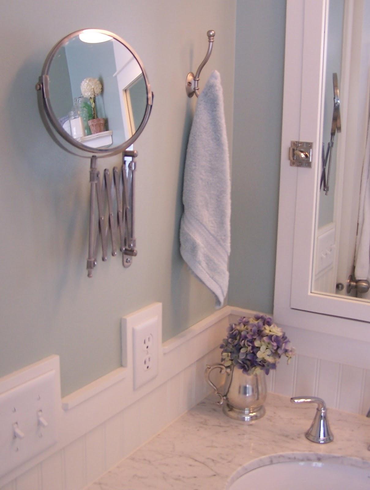 Remodelaholic Complete Diy Master Bathroom Remodel 4 Way Switch