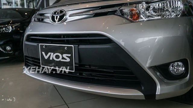 vios 15e cvt 6 - Cận cảnh Toyota Vios 1.5E CVT mới ra mắt Việt Nam