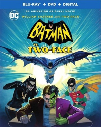 Batman vs Two-Face 2017 English 720p BRRip 650MB ESubs