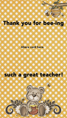 free teacher appreciation printable from The Cherry On Top