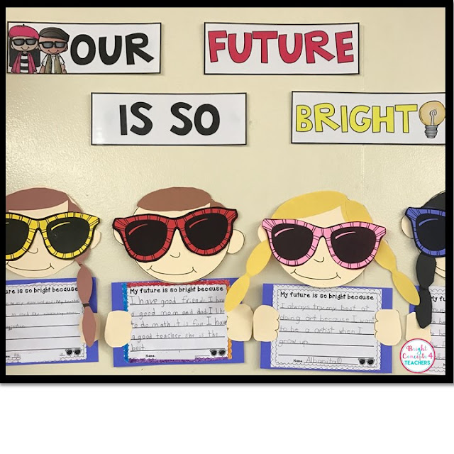This bulletin board is sure help highlight why your students' futures are so bright