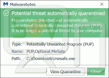 PUP.Optional.MeSafe