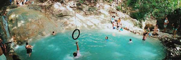 Best and adventurous hidden waterfalls cogon lila bohol philippines 2018