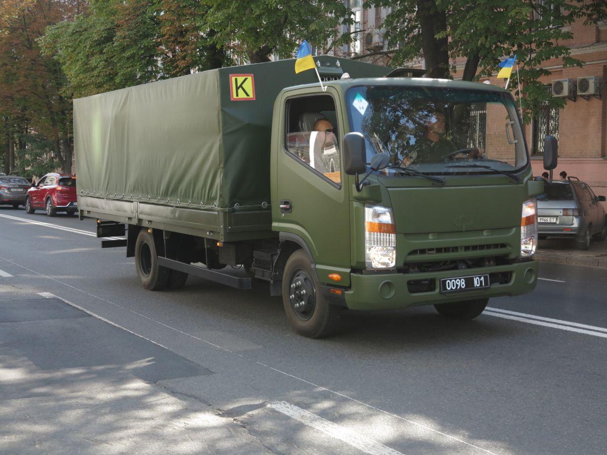 Прикордонники отримали нові вантажівки – Богдан-3373