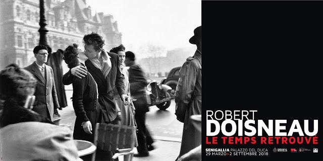Locandina della mostra Robert Doisneau: le Temps Retrouvé