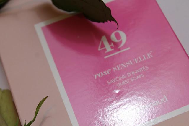 Savons d'Invités 49 Rose Sensuelle - Marionnaud